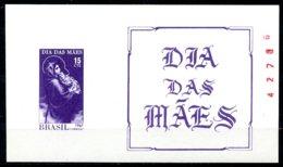 Brazil, 1967, Mother's Day, MNH, Michel Block 20 - Brésil