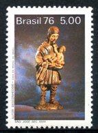 Brazil, 1976, Wooden Statue, Art, MNH, Michel 1571 - Brésil