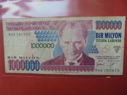 TURQUIE 1.000.000 LIRASI 2002 CIRCULER - Turquie