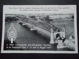 Carte Postale - ALLEMAGNE - TILSIT 17 & 18 August 1935 (2790) - Ostpreussen
