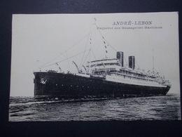 Carte Postale - Paquebot ANDRE LEBON Messageries Maritimes (2791) - Paquebots