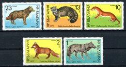 Bulgaria, 1977, Animals, Fauna, MNH, Michel 2597-2601 - Bulgarien