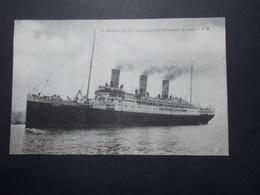 Carte Postale - BORDEAUX (33) Compagnie Sud Atlantique LE LUTETIA - Bateau (2792) - Paquebots
