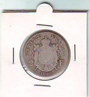 2 Francs  - SECOND EMPIRE  - NAPOLEON III EMPEREUR TETE LAUREE  - 1866 BB - ARGENT - - France