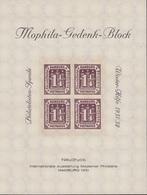 MOPHILA GEDENK BLOCK EMIS LORS DE L'EXPOSITION INTERNATIONALE DE HAMBURG 1931 - Deutschland