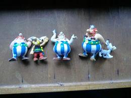 10 Figurines-Astérix Obélie Idéfix-marques Playstoy- Bully-toys Belgium-année 90 - Asterix & Obelix