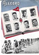 CYCLISME - ALLEGRO L'EQUIPE - ASTRUA ZBINDEN MEIER ZURETTI MARTINI ROSSELLO BARONI - Ets A. Grandjean NEUCHATEL - Cycling