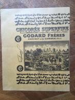 Grand Emballage Etiquette De Chicorée Godard Awoingt Cambrai - Autres
