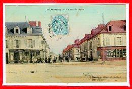 27 - Le NEUBOURG --  La Rue Du Mans - Le Neubourg