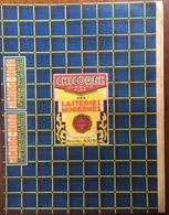 Grand Emballage Etiquette De Chicorée Des Laiteries Modernes - Autres