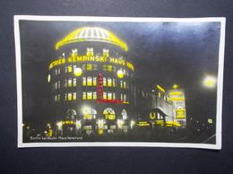 Carte Postale - ALLEMAGNE - Berlin Bei Nacht Haus Vaterland (2796) - Germany