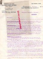 TURQUIE LETTRE WLADIMIR CONSTANTINIDI  CONSTANTINOPLE  A VERGNIAUD RATINAUD SAINT JUNIEN GANTERIE-1929 - Factures & Documents Commerciaux