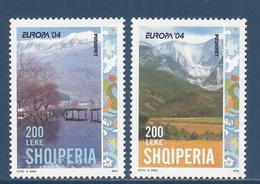 Albanie - Europa - YT N° 2703 Et 2704 - Neuf Sans Charnière - 2004 - Albania