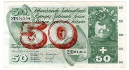 SUISSE - BILLET De 50 Fr - 23 Décembre 1965 - Switzerland