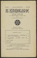 LE SYMBOLISME - Juin 1949 - Fondateur Oswald WIRTH - Esotérisme