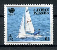 Cayman Islands, 1988, Olympic Summer Games Seoul, Sailing, MNH, Michel 610 - Cayman Islands