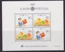 Europa Cept 1989 Portugal M/s ** Mnh (42884) - 1989