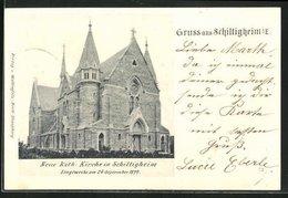 CPA Schiltigheim, Neue Kath. L'Église - Schiltigheim