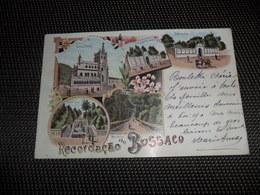 Portugal  Recordaçao Do Bussaco  -  Litho 1899 - Portugal