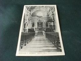 CHIESA EGLISE PARROCCHIALE INTERNO BORGATA VALLE  MURIALDO S. ANTONIO SAVONA LIGURIA - Chiese E Cattedrali