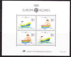 Europa Cept 1989 Azores M/s ** Mnh (42885) - 1989