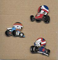 "3 Pin's  "" Rallye "" - Lots"