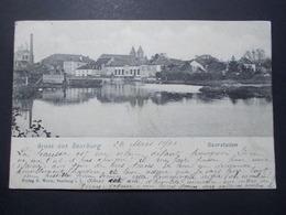 Carte Postale - SARREBOURG (57) - Gruss Aus SAARBURG - Saarstaden - 1902 -  (2801) - Sarrebourg