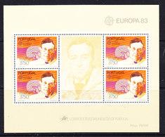 Europa Cept 1983 Portugal M/s ** Mnh (42888) - 1983