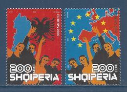 Albanie - Europa - YT N° 2832 Et 2833 - Neuf Sans Charnière - 2006 - Albanie