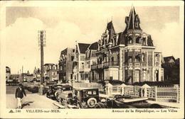 14  VILLERS Sur MER  Avenue De La République Les Villas - Villers Sur Mer