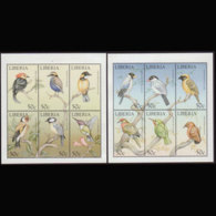 LIBERIA 1999 - MI# 2290A-1A S/S Birds MNH - Liberia
