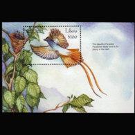 LIBERIA 1999 - MI# B229 S/S Birds MNH - Liberia