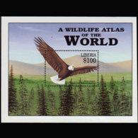 LIBERIA 2003 - S/S Bald Eagle MNH - Liberia