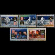 PENRHYN 1989 - Scott# 374-8 Moon Landing Set Of 5 MNH - Penrhyn