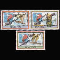 PENRHYN 1999 - Scott# 455-7 Ships Etc.Opt. Set Of 3 MNH - Penrhyn