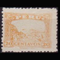 PERU 1931 - Scott# 297 Quano Deposits 20c LH - Peru