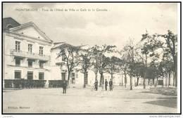 MONTBRISON    (42) - LA PLACE DE L HOTEL DE VILLE EN 1914 -  Bb-765 - Montbrison