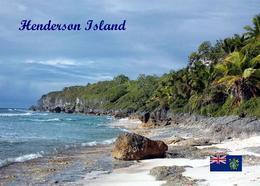 Pitcairn Henderson Island View UNESCO New Postcard Pitcairninseln AK - Pitcairn