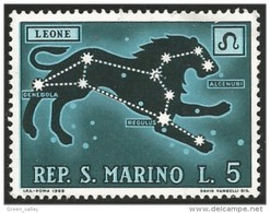 786 San Marino Lion Lowe MH * Neuf CH (SAN-17) - Big Cats (cats Of Prey)
