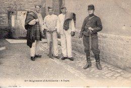 4eme Régiment D'artillerie. à L'ours - Régiments