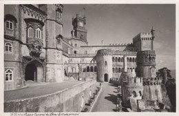 Postcard Sintra Palacio Nacional Da Pena Entrada Principal My Ref  B13297 - Other