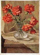 Blumenstrauss - Nelken Rosen 1944 Feldpost - Blumen