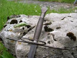 Epée A Deux Mains époque Violet Le Duc - Knives/Swords