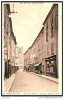 MONTBRISON   (42)   - LA RUE DU MARCHE EN 1951  - Bb-771 - Montbrison