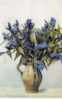 Blumenstrauß Mit Enzian Alpenblumen 1928 - Blumen