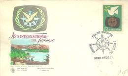 FDC ARGENTINA 1967 - Vacaciones & Turismo