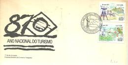 FDC BRASIL 1987 - Vacaciones & Turismo