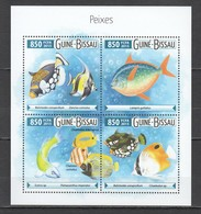 ST915 2015 GUINE GUINEA-BISSAU FISH & MARINE LIFE 1KB MNH - Vie Marine