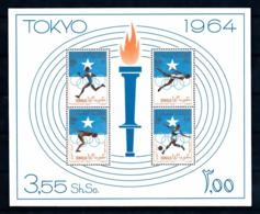 Somalia, 1964, Olympic Summer Games Tokyo, Sports, MNH, Michel Block 1 - Somalie (1960-...)