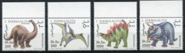 Somalia, 1993, Dinosaurs, Prehistoric Animals, MNH, Michel 480-483 - Somalie (1960-...)